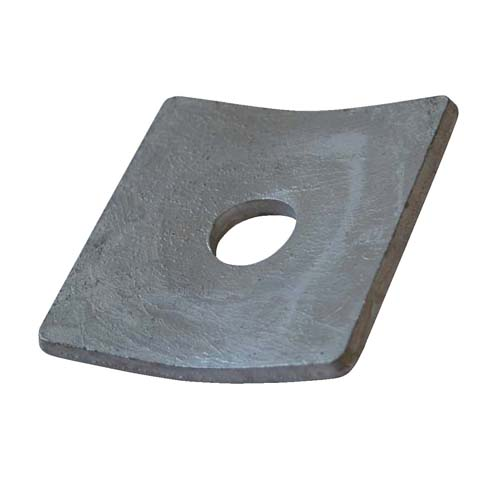 Washer Square Curved 3 Quot X 3 Quot X 13 16 Quot Hole X 1 4