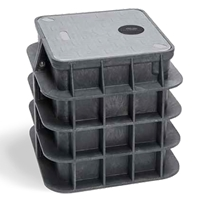 Channell Handhole BULK0, HDPE. Tier 22 One Piece Lid