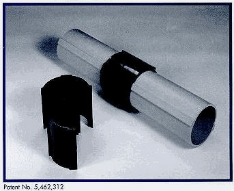 "Coupler, Split Conduit Couplings, for 5"" SCH40 (used for P5F Split Conduit) (6/Box only)"