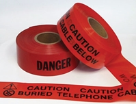 "Tape, Warning, Underground, Non- Detectable 3""wide"