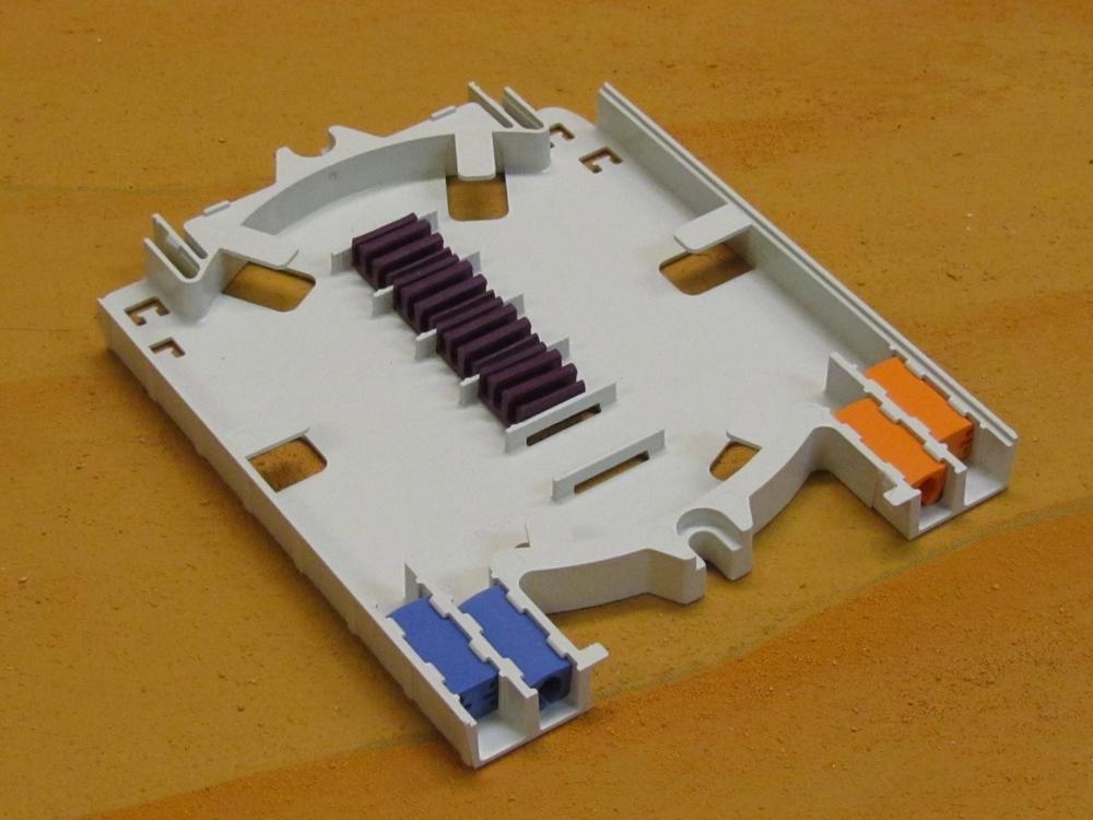 Tray Splice Deep Profile For Ribbon Fiber Lgstr144 Stk