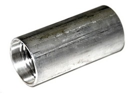 Coupler, 1.25-inch, Aluminum, Barbed