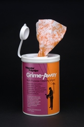 Wipe, 72-Count Grime-Away? Canister