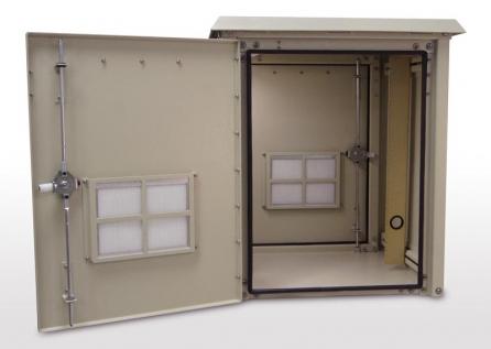 - Enclosure, Outdoor, 30 X 25 x 25, front & rear doors ... on Outdoor Water Softener Enclosure  id=32320