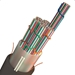 AFL 1,728-Fiber Gel-Free Double-Jacket Single Armor Wrapping Tube Fiber Optic Cable - LWSE-1728-K-C-144-12-10S1D